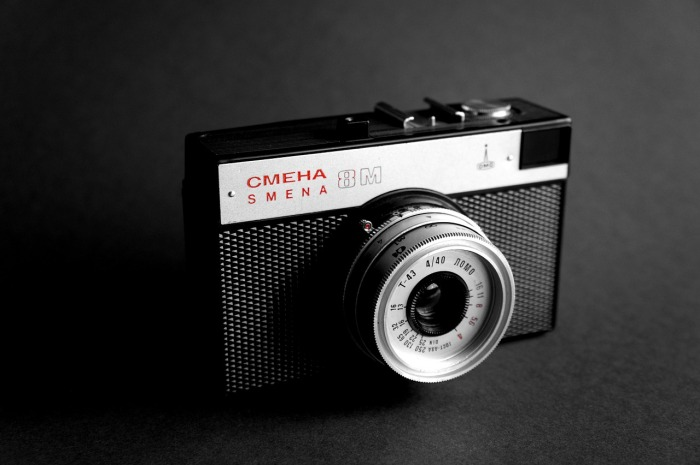 Smena Russian film camera