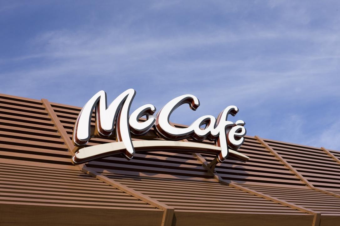 McCafe sign